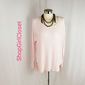 💥Just In💥French Laundry Pink Sweater..Sz L